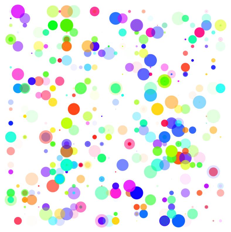 Random Rectangles and Circles (2)